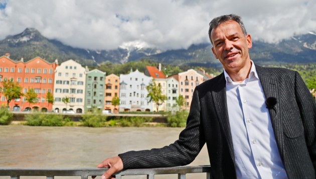 Innsbrucks Bürgermeister Georg Willi (Bild: Christof Birbaumer)