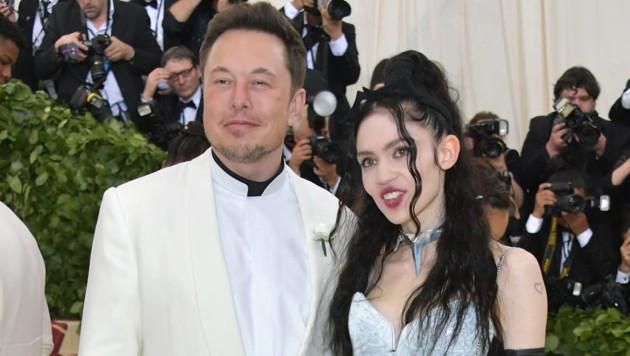 Elon Musk und Grimes bei der Met Gala 2018 (Bild: 2018 Getty Images)