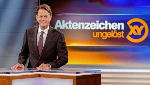 Rudi Cerne wird am Mittwoch den Fall aus Wien-Meidling im ZDF präsentieren. Man hofft auf Tipps aus der Bevölkerung. (Bild: Nadine Rupp)