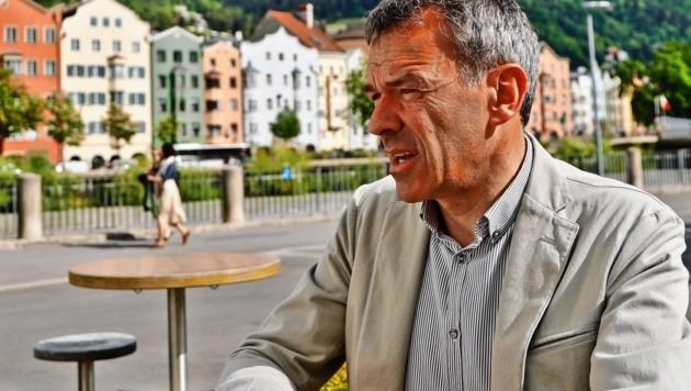 Innsbrucks Bürgermeister Georg Willi. (Bild: Christof Birbaumer)