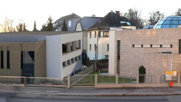 Der Ausbau der Moschee in Linz sorgt für Wirbel (Bild: Neos)