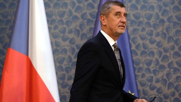 Premier Andrej Babis (Bild: AP)