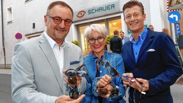 Joe Schauer, Veronika Obradovits und Roman Seigmann (Bild: Markus Tschepp)