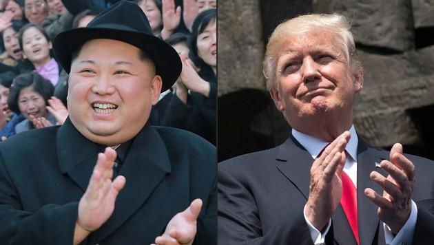 (Bild: APA/KCNA VIA KNS/AFP/SAUL LOEB)