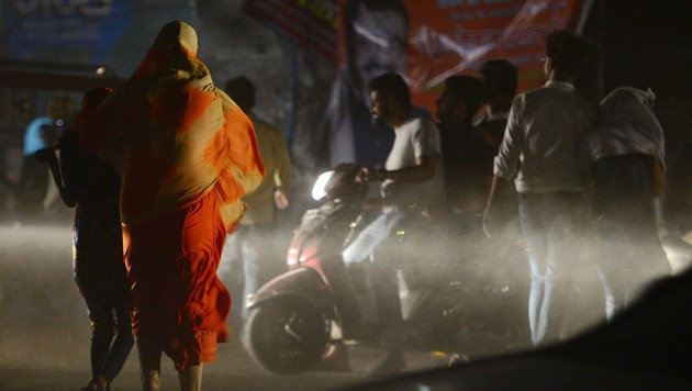 (Bild: AFP/Sanjay Kanojia)