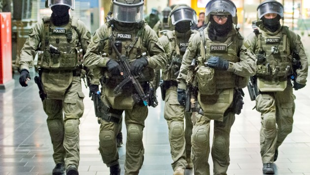 Spezialkräfte der GSG 9 (Bild: APA/dpa (Symbolbild))