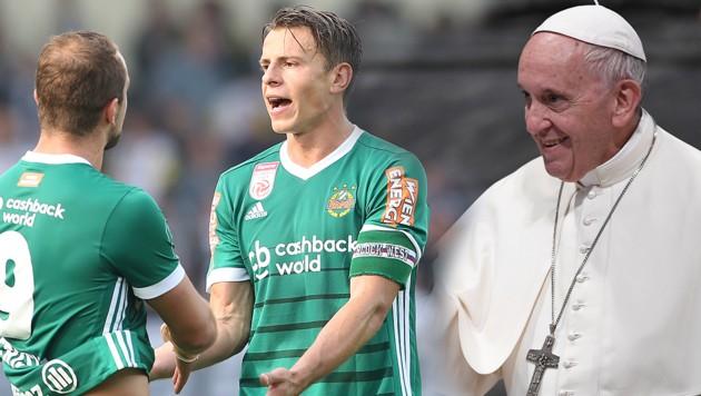 Große Ehre! Rapid erhält Privataudienz beim Papst