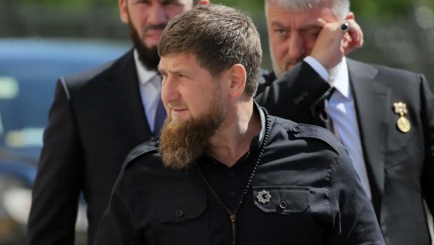 "Ramsan Kadyrow, ""Oberhaupt"" der russischen Teilrepublik Tschetschenien (Bild: AFP)"