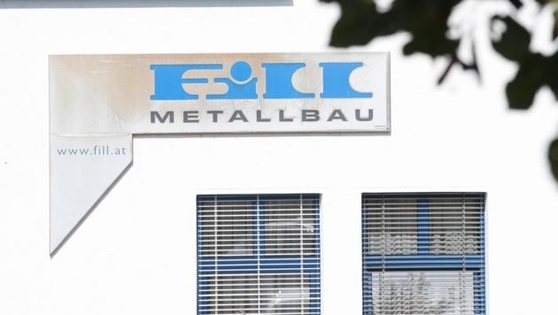 Ob Fill Metallbau fortgeführt wird, entscheidet sich nächste Woche. (Bild: Daniel Scharinger)