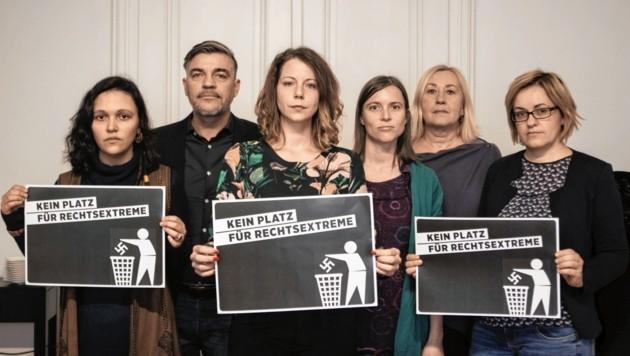 Mit bekannten Betroffenheits-Adressen wird die Belanglosigkeit der Grazer Grünen wohl nicht überwunden. (Bild: Facebook/Grazer Grüne)