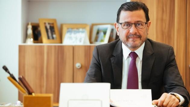 Botschafter Salah Abdel Shafi (Bild: Lukas Kundigraber)