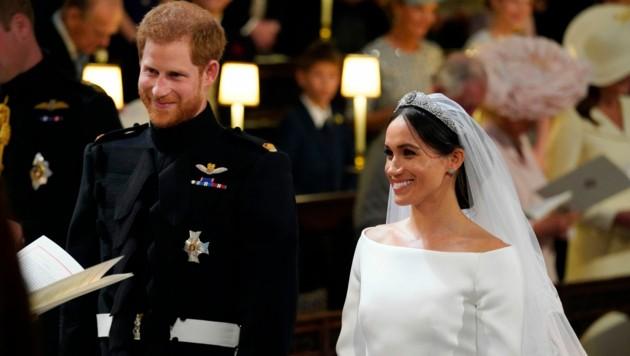 Prinz Harry und Meghan Markle (Bild: WPA Rota)