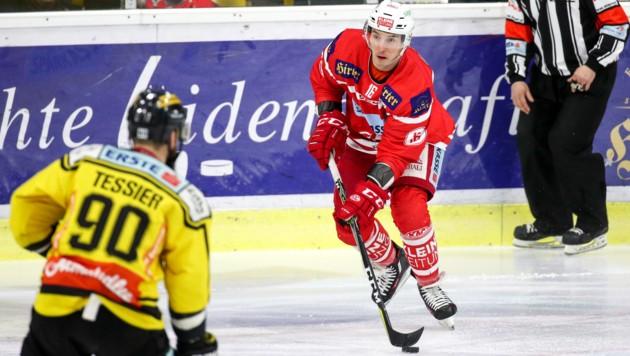 Als aktiver Eishockey-Crack spielte der Wahl-Steirer Patrick Harand etwa beim KAC und bei den Graz99ers (Bild: GEPA)