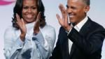 Barack Obama mit seiner Frau Michelle (Bild: AFP)