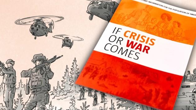 Schweden bereitet Bürger auf einen Krieg vor