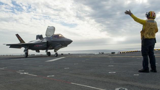 Die F-35 gibt es auch als Senkrechtstarter.