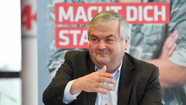 AKOÖ-Präsident Johann Kalliauer (Bild: Harald Dostal)
