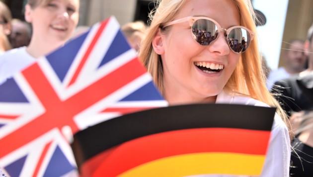 Aus Angst vor dem Brexit ließen sich Tausende Briten in Deutschland einbürgern. (Bild: AFP)