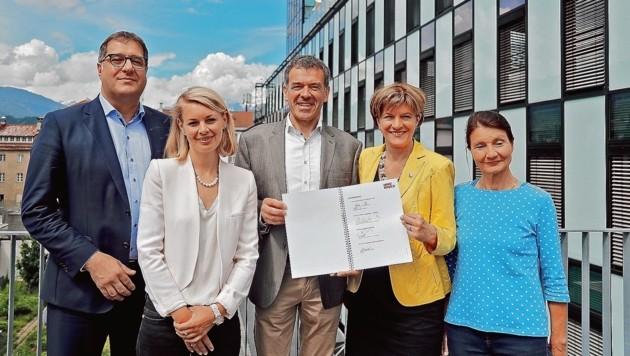 Neue Innsbrucker Stadtregierung