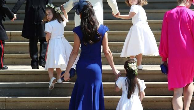Jessica Mulroney sorgte mit diesem Outfit für Aufsehen bei der Royal Wedding. (Bild: WPA Rota)