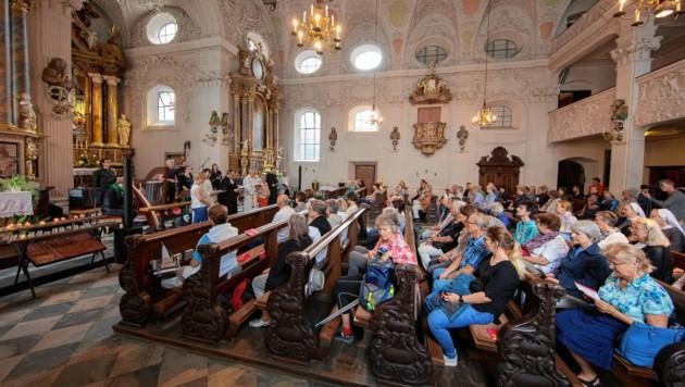 Die rund 60 teilnehmenden Kirchen waren gut besucht (Bild: Christian Forcher)