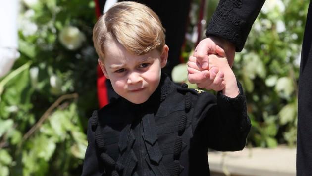 Prinz George nach der Hochzeit seines Onkels Prinz Harry
