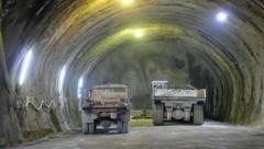 Baustelle des Tunnels (Bild: Juergen Radspieler (Symbolbild))