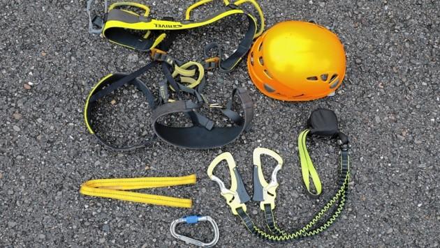 Klettersteig Bandschlinge : Fallbach das erste mal im klettersteig krone at