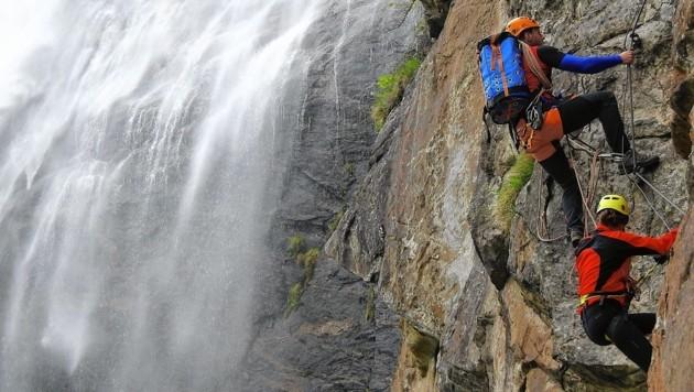 Klettersteig Usa : Fallbach: das erste mal im klettersteig krone.at