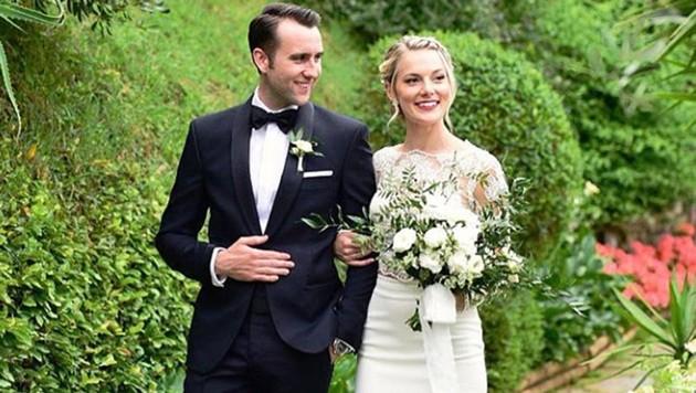 Matthew Lewis hat seine Freundin geheiratet. (Bild: instagram.com/mattdavelewis)