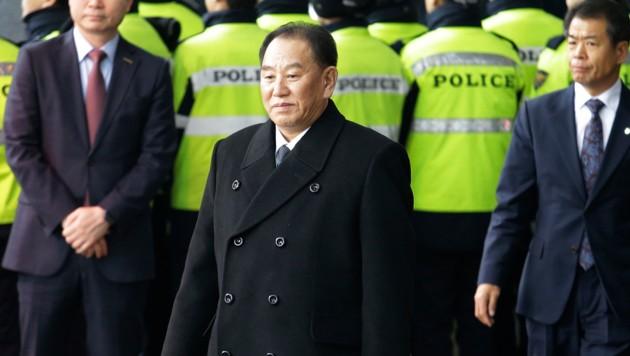 General Kim Yong Chol (Bild: AP)