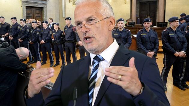 Justizminister Josef Moser sorgt mit seinem Gesetz für viel Unmut. (Bild: APA/ROLAND SCHLAGER, APA/HANS KLAUS TECHT, krone.at-Grafik)