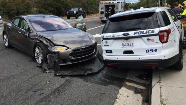 (Bild: Laguna Beach Police Department via AP)