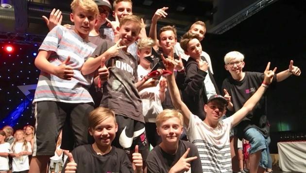 Auch das Welser Breakdance-Team holte bei der WM Platz eins. (Bild: Kranzer/Hippmann)