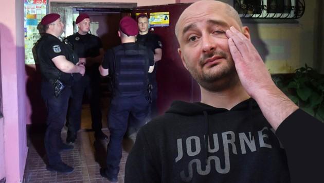 Arkadi Babtschenko half mit, seine eigene Ermordung vorzutäuschen - um russische Attentäter zu entlarven. (Bild: APA/AFP/Sergei SUPINSKY)