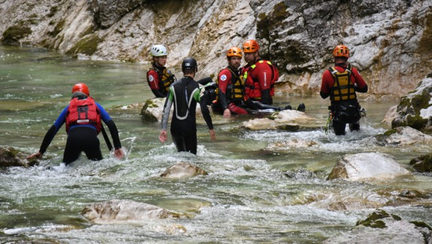 Brandenberg-Unfall beim Canyoning (Bild: zoom.tirol)