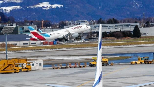 Flugverkehr belastet Anrainer (Bild: Markus Tschepp)
