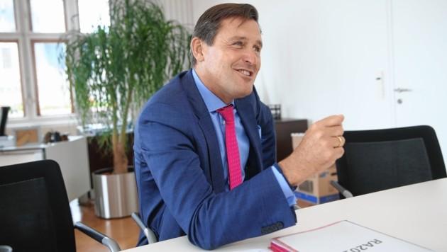 Finanzstadtrat Peter Hanke (SPÖ)