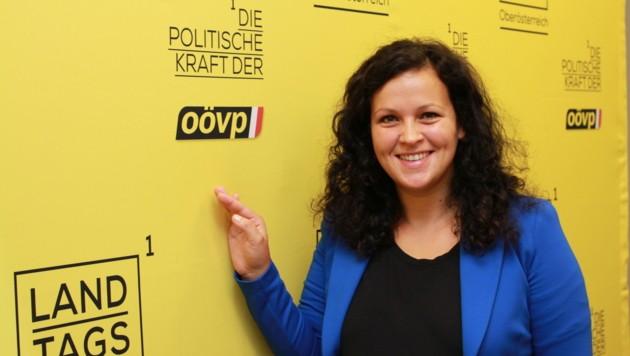 ÖVP-Klubobfrau Helena Kirchmayr. (Bild: Christoph Gantner)