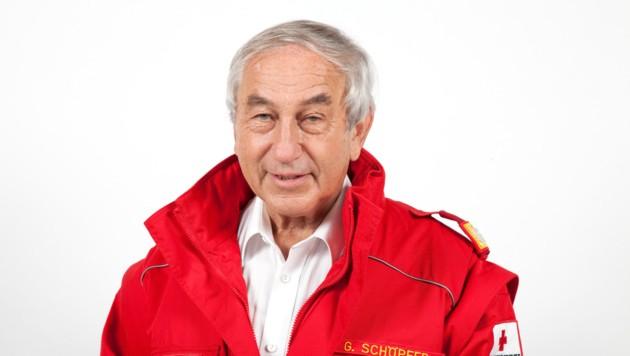 Rotkreuz-Präsident Gerald Schöpfer