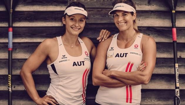 Ana-Roxana Lehaci und Viktoria Schwarz (Bild: Energie AG)
