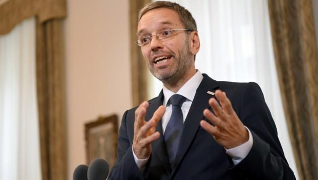 Innenminister Herbert Kickl (FPÖ) (Bild: APA/ROLAND SCHLAGER)