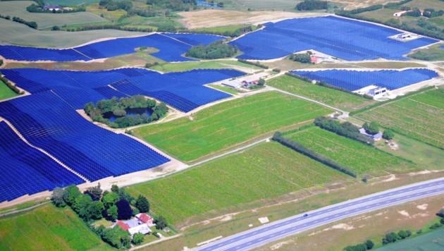 So sieht das Kraftwerk-Vorbild in Dänemark aus - jenes in der Steiermark soll aber noch wesentlich größer werden. (Bild: Christian Jauschowetz)