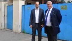 Vizebürgermeister Dominik Nepp und Bezirkschef Stadler wollen das Projekt verhindern. (Bild: FPÖ)