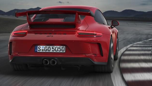 Porsche 911 GT3 (Bild: Porsche)