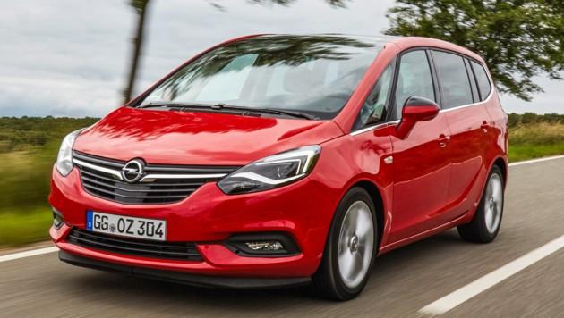 Opel Zafira (Bild: Opel)