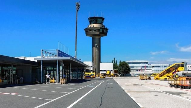 Der Flughafen Salzburg (Bild: Melanie Hutter)