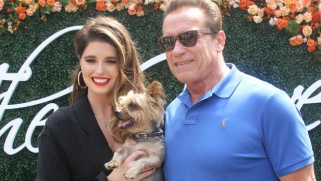Arnold Schwarzenegger mit Tochter Katherine (Bild: 2017 Getty Images)