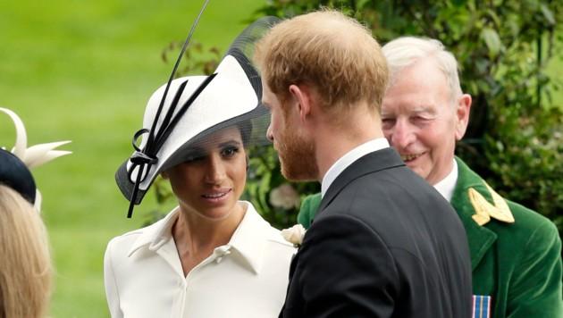 Herzogin Meghan und Prinz Harry in Ascot (Bild: Invision)