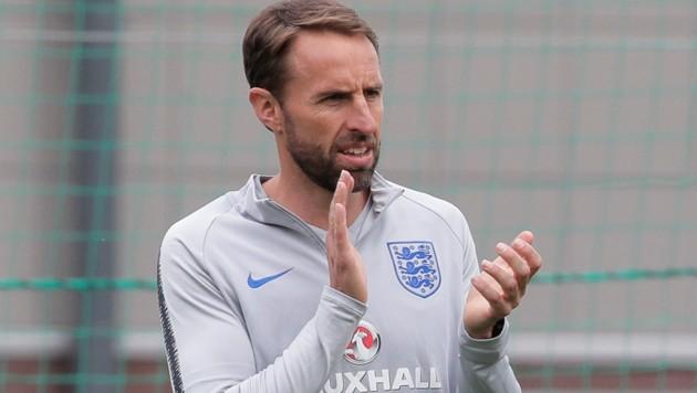 England-Trainer Southgate (Bild: Associated Press)
